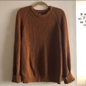 Sweaters - Rust Chunky Knit Sweater